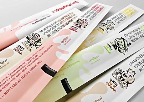 Сингапурский производитель представил на рынке соломинки для ароматизации молока