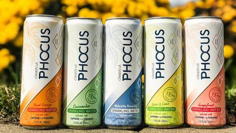 Phocus - газированная вода с кофеином