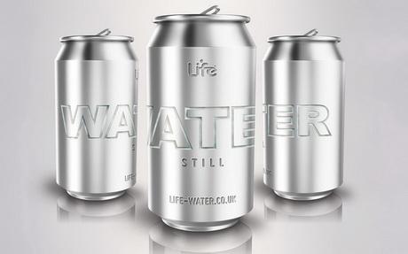 Компания Life Water выпустила первую в Великобритании воду в банке без пластика