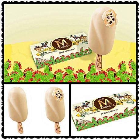 Magnum и Dolce and Gabbana создали эксклюзивное мороженое
