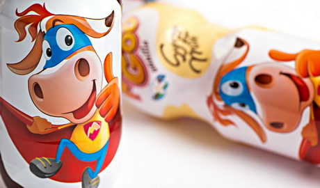 Сиропы MooGoo привлекают внимание потребителей изображениями забавной коровы