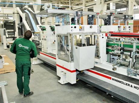 Новая бумагоделательная машина Segezha Group смонтирована на 90 процентов