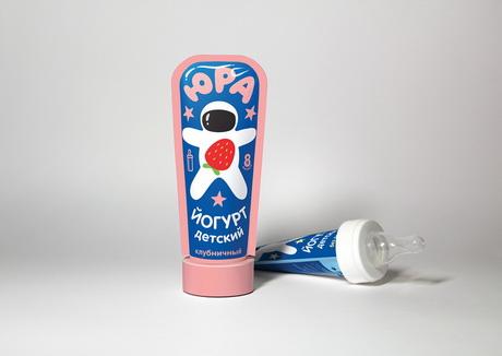 Дизайнер Петр Москалев придумал йогурт Юра как для маленьких, так и очень маленьких детей
