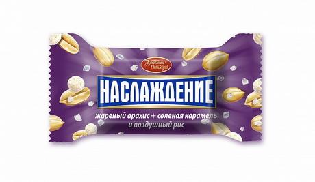 В линейке конфет «Наслаждение» появилась солёная новинка